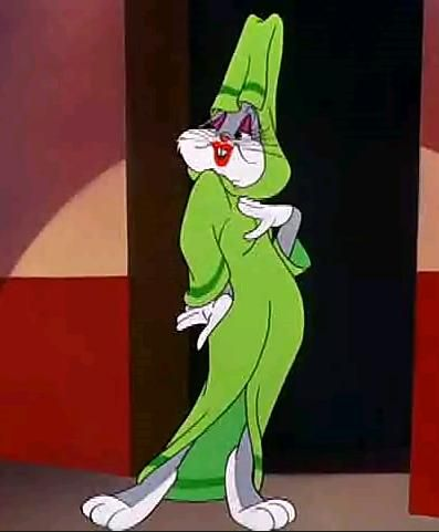 Bugs Bunny red lipstick