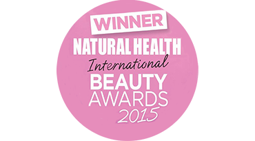 Natural Health International Beauty Awards 2015 winner_1_17